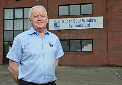 Kenneth Taylor, Founder of Super Seal Window Systems