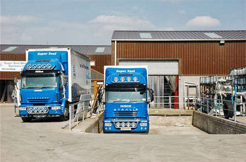 Super Seal Lorries and Loading Bay