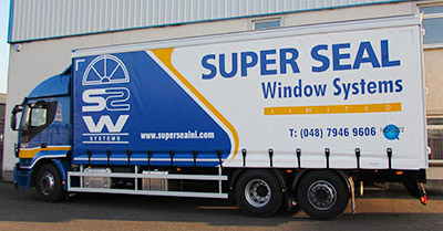 Super Seal Windows Lorry